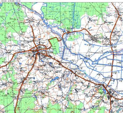 gps карты москва область: