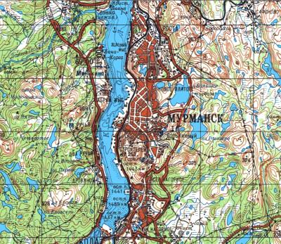Генштабовские Карты Хабаровский Край