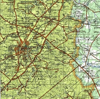 Карты стрельбицкого с привязкой - abb